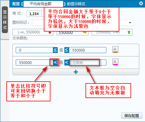 商业智能分析平台文字样式